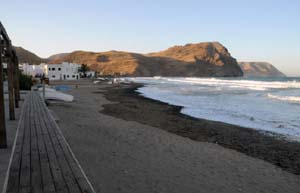 The Beach at Las Negras